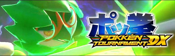 Pokkén Tournament DX, un nouveau jeu sur Nintendo Switch.