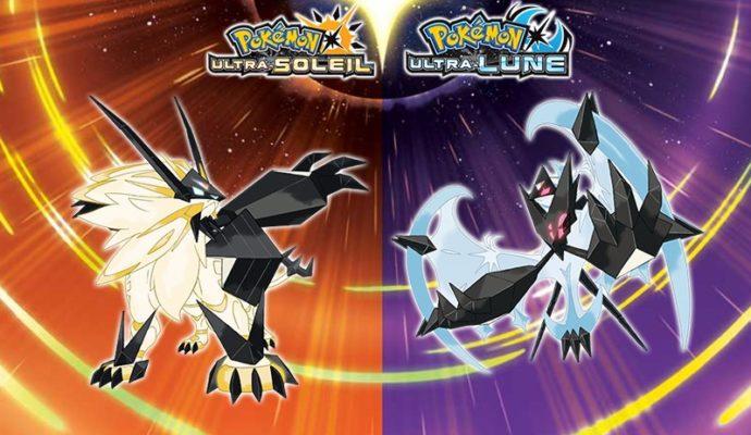 Image de Pokémon Ultra-Soleil et Pokémon Ultra-Lune, jeux dévoilés lors du Pokémon Direct.
