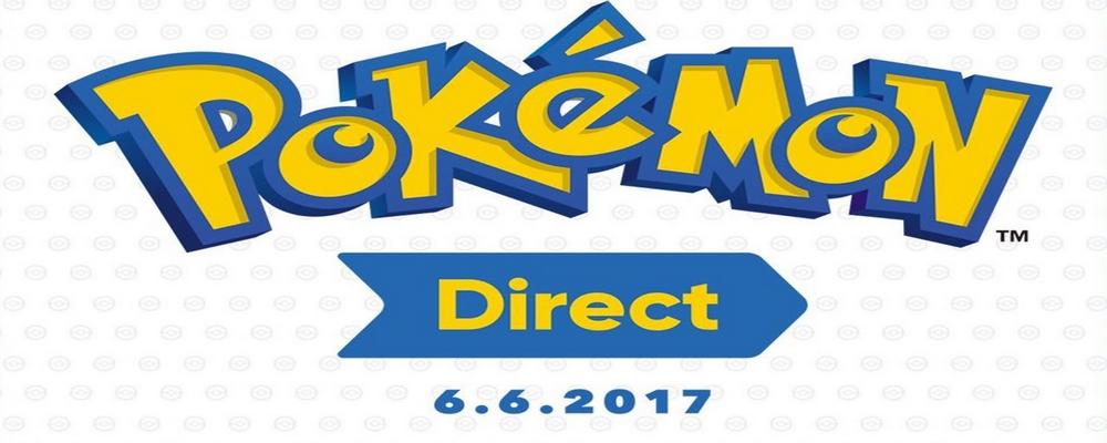 L'image principale du Pokémon Direct du six juin 2017.