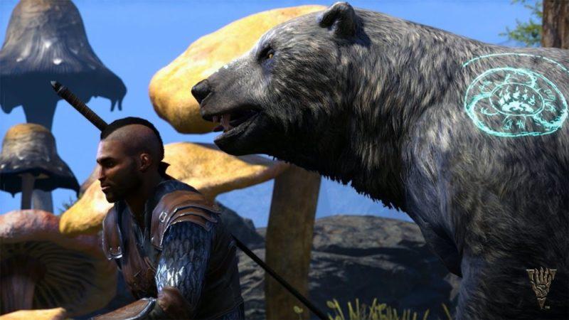 The Elder Scrolls Online: Morrowind ours de combat Gardien