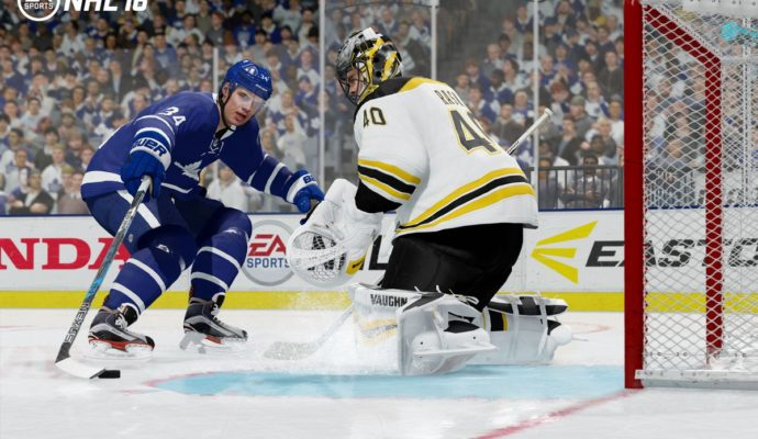 NHL 18 créativité