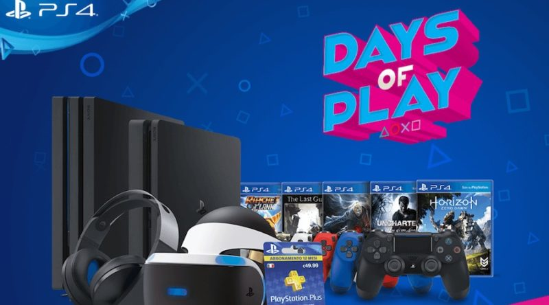 Days of Play contenus