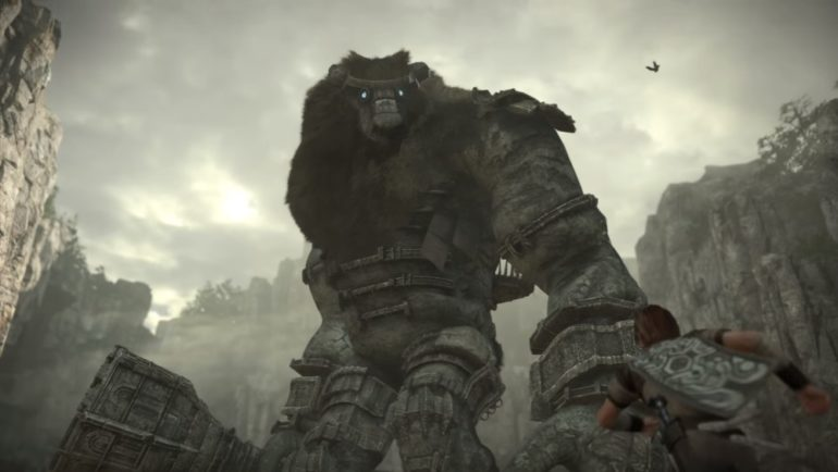 e3 2017 shadow of the colossus