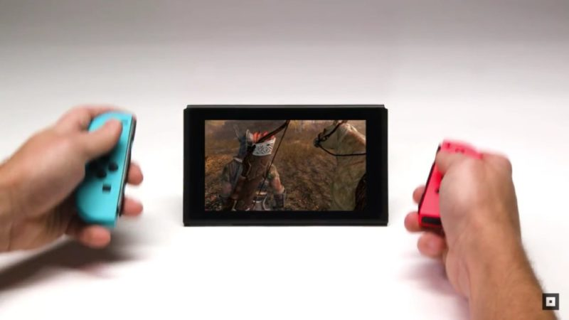 The Elder Scrolls V: Skyrim nintendo switch
