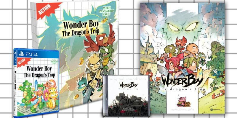Wonder Boy: The Dragon's Trap collector