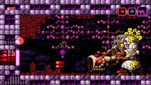 Axiom Verge boss fight