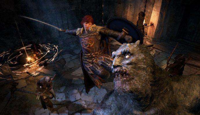 Dragon's Dogma: Dark Arisen combat épique
