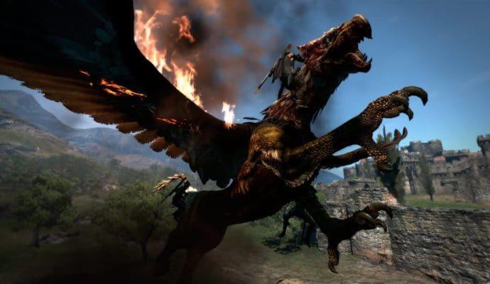 Dragon's Dogma: Dark Arisen combat ultra épique