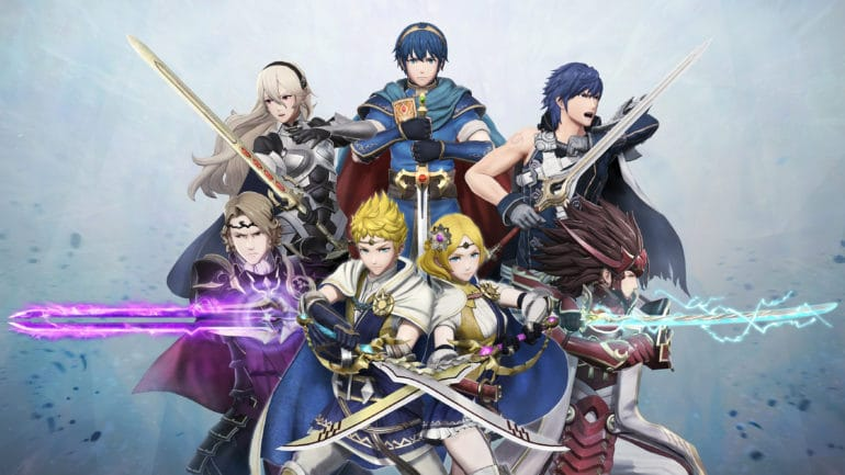 Fire Emblem Warriors - Les héros