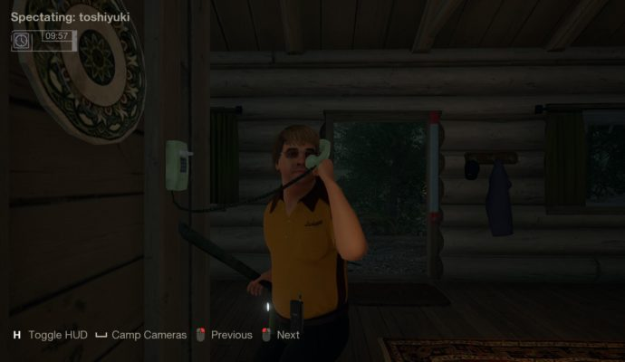 Friday the 13th: The Game Appel Flics