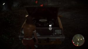 Friday the 13th: The Game Voiture