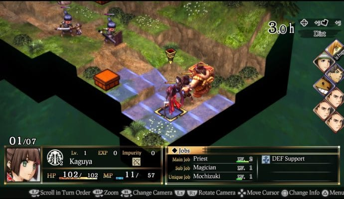 God Wars: Future Past gameplay