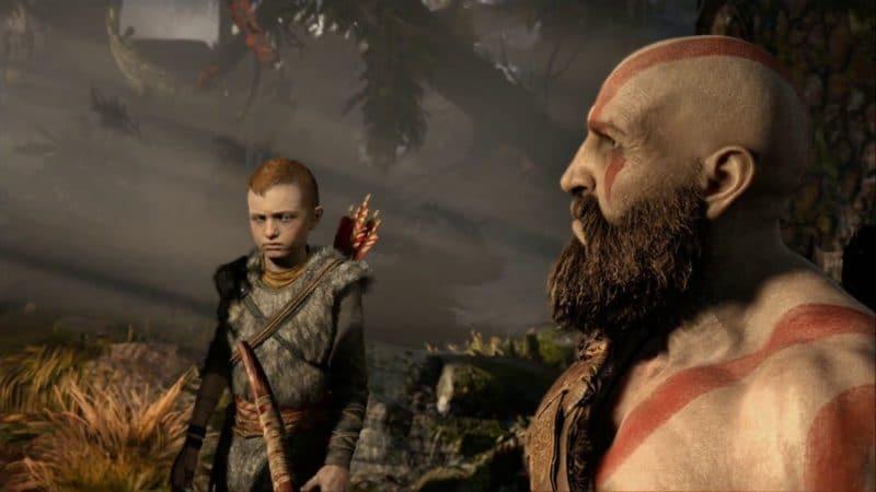 God of War Kratos et Atreus