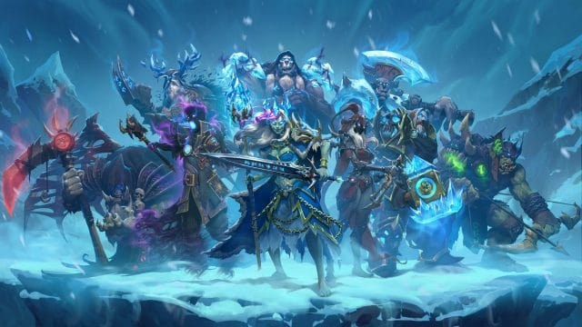 Hearthstone chevaliers du trône de glace