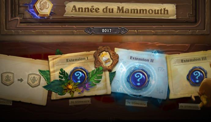Hearthstone année du mammouth