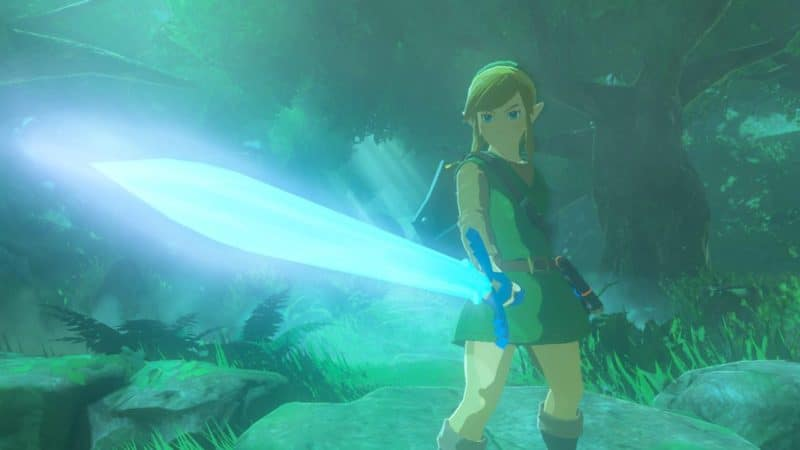 The Legend of Zelda: Breath of the Wild - Master Sword