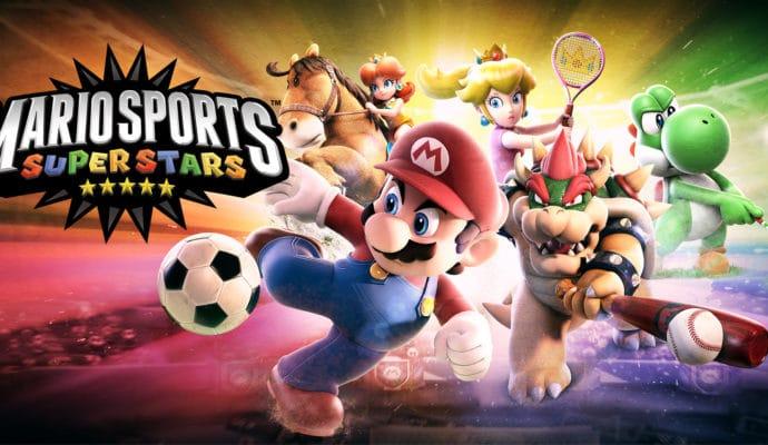 jeux de sport mario sports