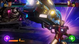 Marvel vs. Capcom Infinite- Iron Man