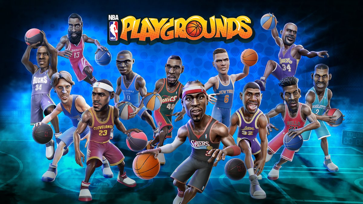 NBA Playgrounds - Personnages