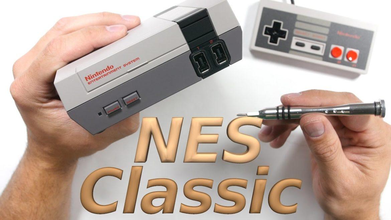 NES Mini Classic bidouillée