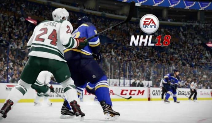 jeux de sport NHL 18