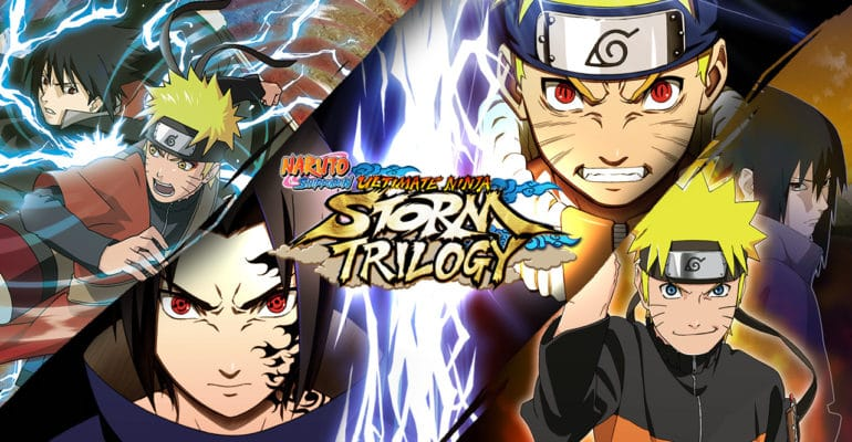 Naruto Shippuden: Ultimate Ninja Storm Trilogy visuel