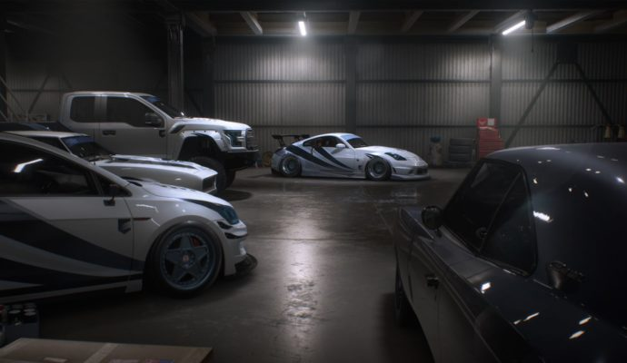 Need For Speed Payback garage