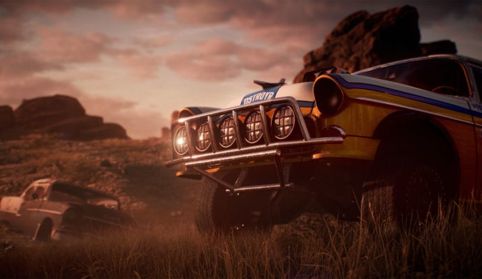 Need For Speed Payback voiture abandonnée