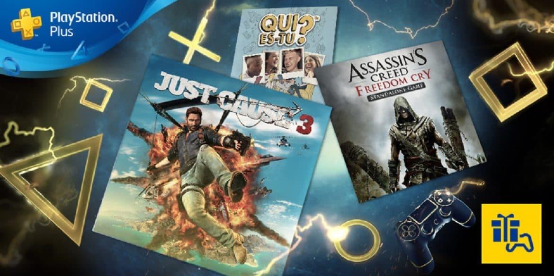 PlayStation Plus - août 2017