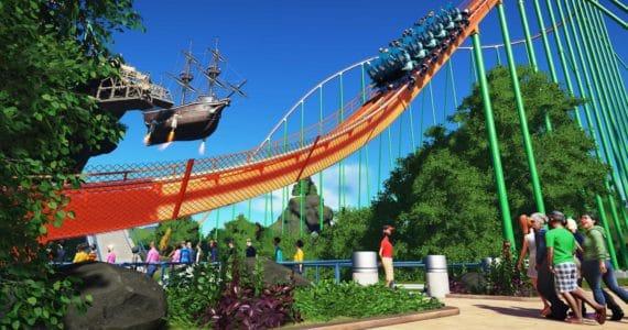 Planet Coaster Attraction
