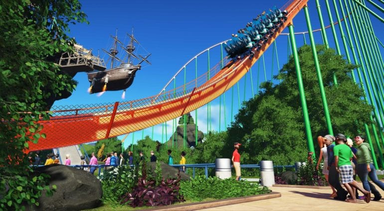Planet Coaster Attraction