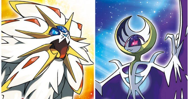Pokémon Soleil & Lune les legendaires