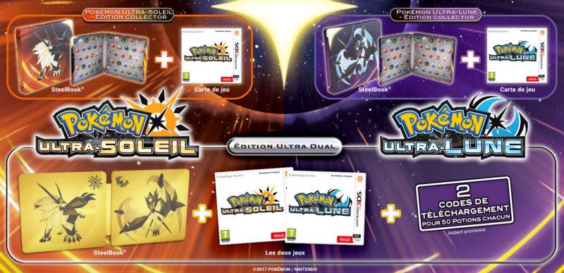 Collector Pokémon ultra-Soleil & Ultra-Lune