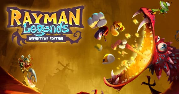 Rayman Legends: Definitive Edition cover