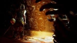 Hellblade: Senua's Sacrifice décor glauque