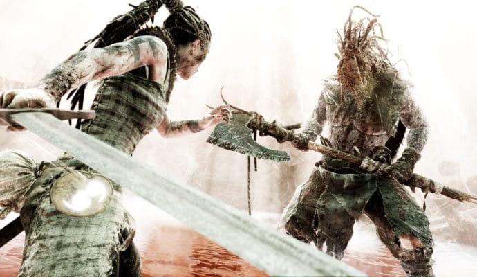 Hellblade: Senua's Sacrifice combat, mais plus lumineux