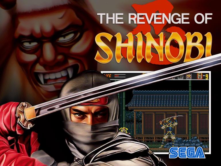 The Revenge of Shinobi logo