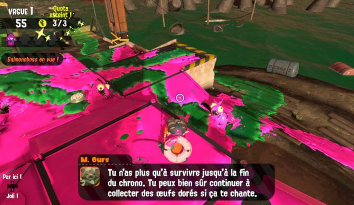 Test Splatoon 2 - Salmonoïdes