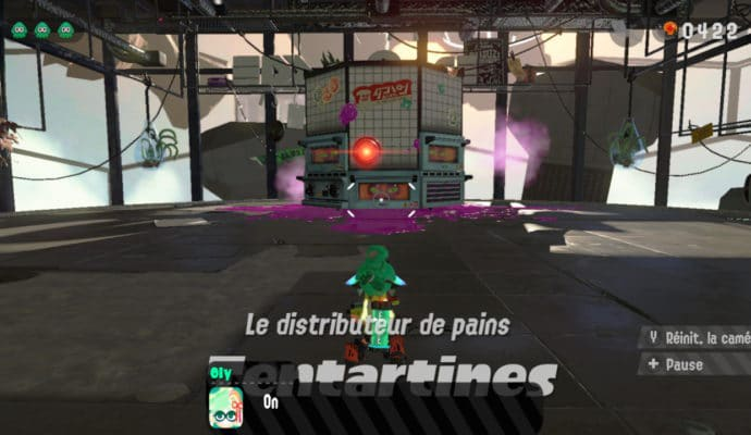 Test Splatoon 2 - Boss Tentartines