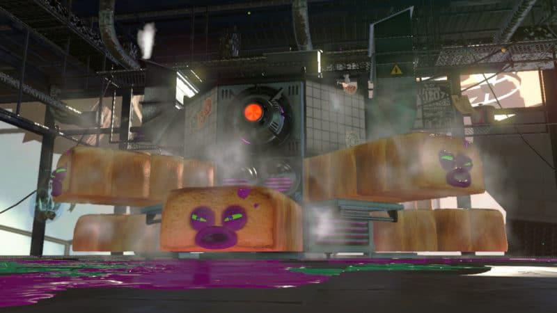 Test Splatoon 2 - Boss Tentartines