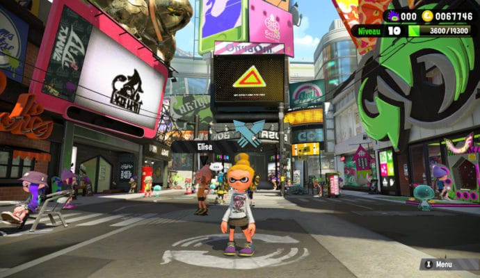 Test Splatoon 2 - Square de Chromapolis