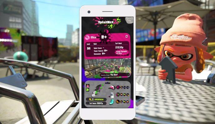 Splatoon 2 - Application smartphone