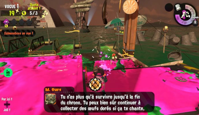 Test Splatoon 2 - Mode Salmon Run