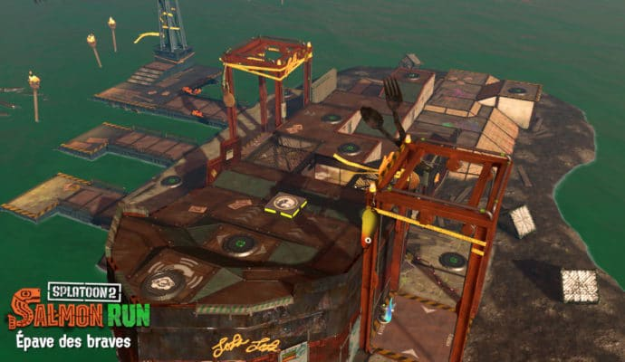 Test Splatoon 2 - Carte Salmon Run