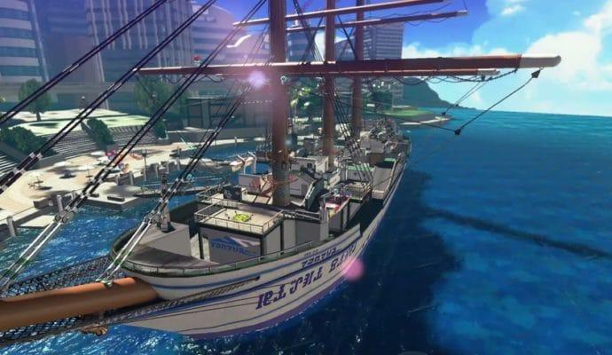 Splatoon 2 - Carte DLC navire