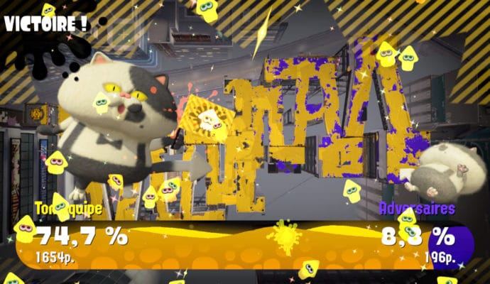 Test Splatoon 2 - Victoire