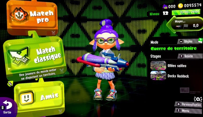 Test Splatoon 2 - Mode en ligne