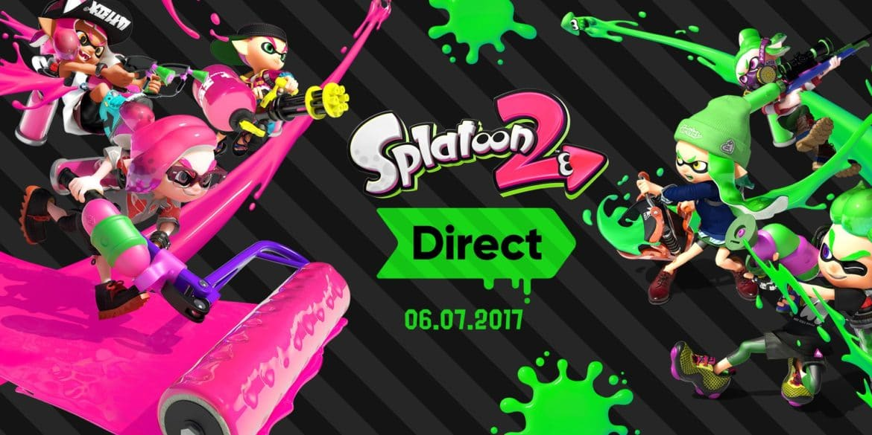 Splatoon 2 Nintendo Direct - annonce