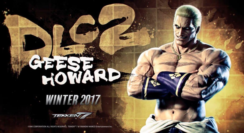 Tekken 7 Geese Howard DLC