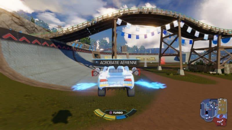 Test Cars 3 : Course vers la victoire - Voiture volante